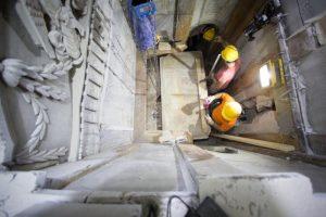 archaeologist-reconstructing