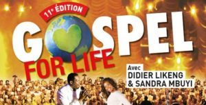Tournée 2016 de Gospel For Life du 17/11/2016 – 22/12/2016