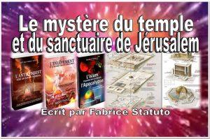 Livre : Le mystère du temple et du sanctuaire de Jérusalem