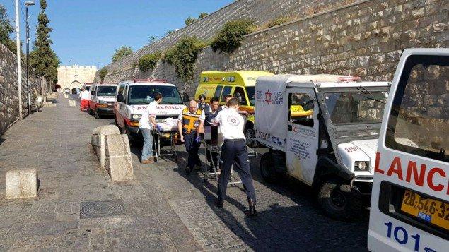 Israël – Jérusalem attentat : Attaque de la terreur à Jérusalem sur le mont du Temple, 2 Israéliens assassinés