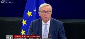 EU-UE et son idéologie : «Le discours de Juncker sur l'état de l'UE » l'Europe se prépare à la guerre avec le monde