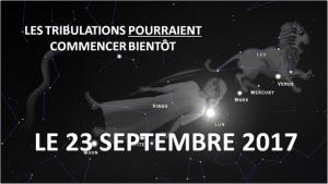 Astronomie : Le 23 Septembre 2017, Des signes « bibliques » plus « sinistres » dans le ciel