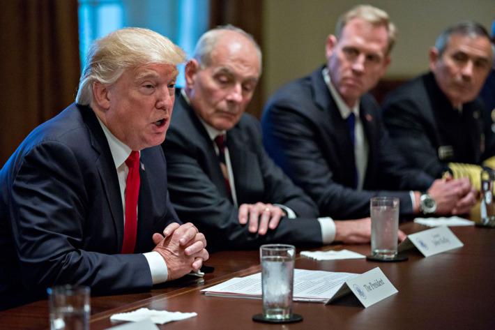 Etats-Unis : Trump dénonce qu'il est sur le point de lancer une guerre majeure (encore une fois)