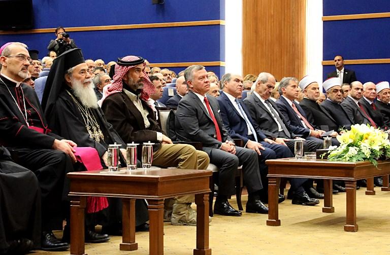 Les dirigeants des l'églises chrétiennesde Jérusalem en Jordanie condamnent la «judaïsation» de la ville Sainte
