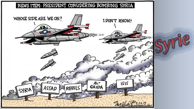 Guerre en Syrie : Face à face des superpuissances