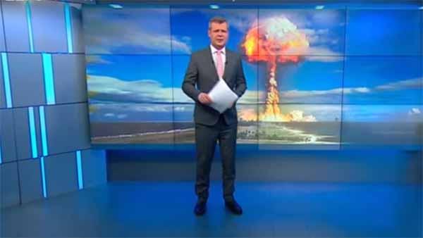 Alerte rouge – Exercice de préparation :  La télévision d'Etat russe exhorte ses citoyens à stocker de la nourriture en cas de guerre généralisée