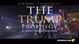 Le département du cinéma de l'Université de Liberty produisant le long métrage « The Trump Prophecy »