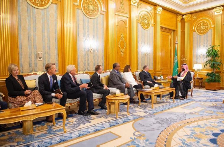 Les dirigeants évangéliques américains ont rencontré le prince héritier saoudien à la veille du 11 septembre