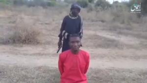 Afrique : Un enfant soldat de l'Etat islamique exécute un étudiant chrétien nigérian et déclare «nous ne nous arrêterons pas
