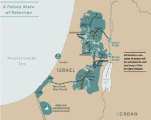 La Palestine : Voici à quoi peut ressembler un futur État de Palestine