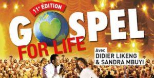 Tournée 2016 de Gospel For Life du 17/11/2016 – 22/12/2016