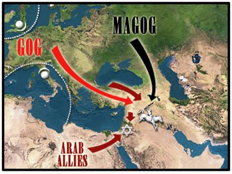 GOG LE PRINCE DE MAGOG NE VIENDRA PAS DE LA RUSSIE MAIS DE LA TURQUIE