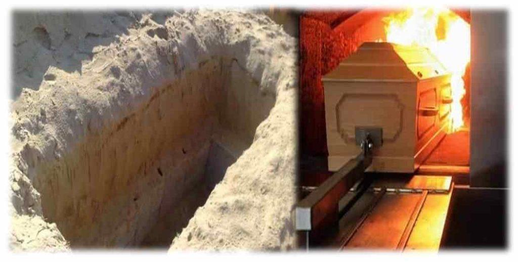 Questions et réponses en rapport avec la mort et la résurrection : Ensevelissement ou incinération (= crémation)?