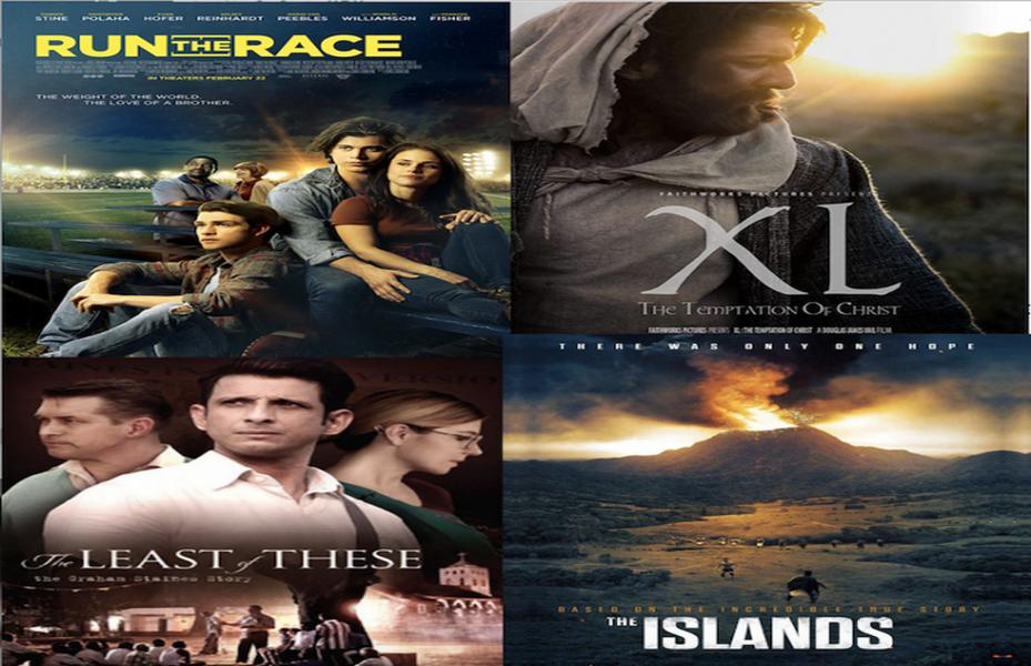 Etats-Unis – Cinéma : Sélections des 5 films chrétiens à l'affiche en 2019