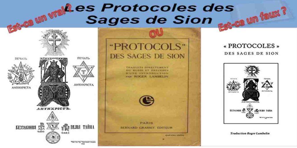 Est-ce un vrai ou est-ce un faux ? : Les Protocoles des Sages de Sion est-ils véridiques ou un faux + explication vidéo conférence