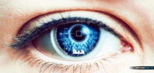 Œil bionique électrochimique qui permettra aux robots de voir comme des humains