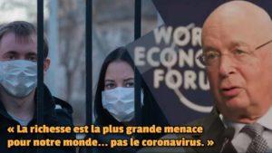 Le Forum économique mondial avoue : son projet criminel de ruiner la population mondiale afin de mieux l'asservir à ses projets funestes